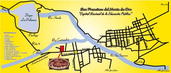 Mapa de San Francisco del Monte
